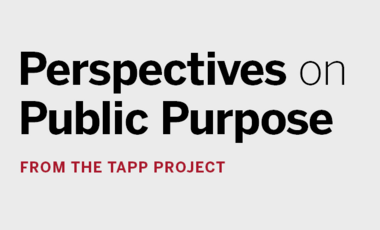 Perspectives on Public Purpose