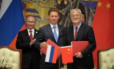 Russia and China sign a $400 billion gas deal