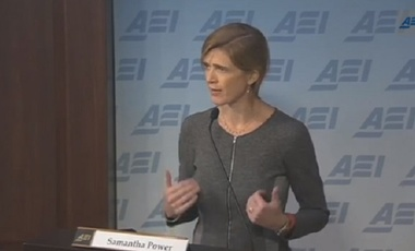 Amb. Samantha Power at the American Enterprise Institute