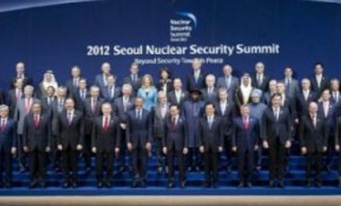 Attendees at the 2012 Nuclear Security Summit in Seoul