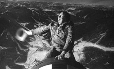 Slim Pickens in Dr. Strangelove: How I Learned to Stop Worrying and Love the Bomb