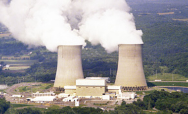 The PPL Corporation's Susquehanna nuclear power plant is shown near Berwick, Pa., in this 2005 photo.