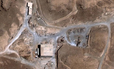 This Aug. 5, 2007 satellite image provided Oct. 25, 2007 by DigitalGlobe shows a suspected nuclear reactor site in Syria that Israel's Sep. 6, 2007, raid destroyed.