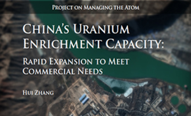 China's Uranium Enrichment Capacity: Rapid Expansion to Meet Commercial Needs
