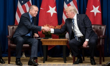 President Donald J. Trump and President Recep Tayyip Erdoğan of Turkey at the United Nations General Assembly