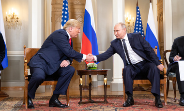 President Donald J. Trump and President Vladimir Putin of the Russian Federation.