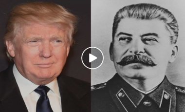 Donald Trump and Josef Stalin