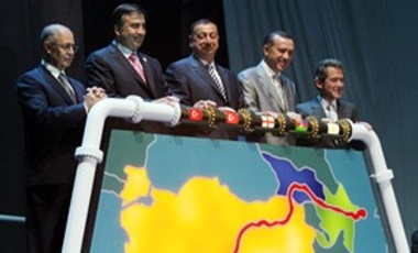 On July 13, 2006, the leaders of Turkey, Azerbaijan, & Georgia gathered at the Turkish port of Ceyhan to formally inaugurate the new Baku-Tbilisi-Ceyhan Pipeline.