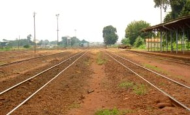 The railway tracks at Jinja, Uganda, Sept. 14, 2010. Railways, the technology that transformed Europe and America in the 19th century, may yet play a significant role in the future economic development of Uganda.