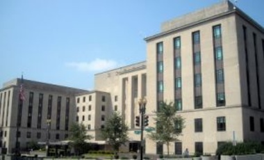 The Harry S. Truman Building located at 2201 C Street, NW in the Foggy Bottom neighborhood of Washington, D.C., 28 July 2009. It is the U.S. Department of State headquarters.