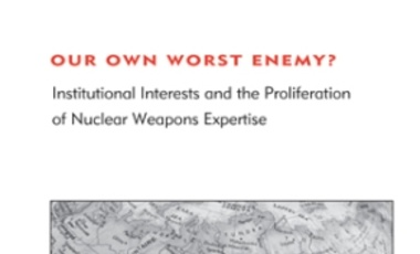 Our Own Worst Enemy? Institutional Interests and the Proliferation of Nuclear Weapons Expertise
