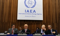 An IAEA Board of Governors meeting in 2011.
