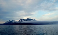 Arctic Ocean off Tromso, Norway.