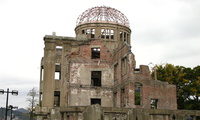 The Hiroshima Peace Memorial.