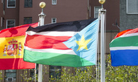 Flags of Member States Flying at UN Headquarters: South Sudan