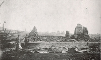 Ruins of Nikolaevsk in the Russian Far East, June 1920