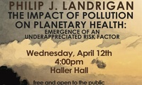 Dr. Philip Landrigan to speak