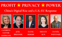 Profit, Privacy, Power - China's Digital Rise and a US-EU Response