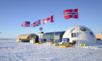 Ice Camp Sargo, located in the Arctic Circle, serves as the main stage for Ice Exercise 2016.