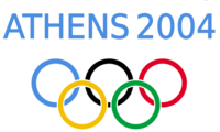 Logo of the Athens Olympics