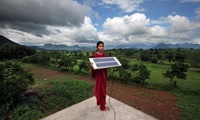Meenakshi Dewan, 20, brings something very special to her home in Orissa, India: electricity. She is one of four women in her village trained in solar power engineering.