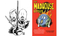 "Michael E. Mann and Tom Toles and their book ""The Madhouse Effect"""