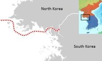 Northern Limit Line separating North and South Korea
