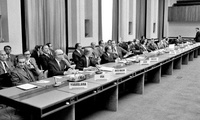 First meeting of the Preparatory Committee for the Review Conference of the Parties to the NPT, United Nations, Geneva, Switzerland, 1 April 1974.