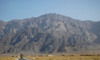Ras Koh Mountain in the Chagai Hills, site of Pakistan's first nuclear weapon test.