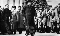 PRC Premier Zhou Enlai at the Geneva Conference, 1954
