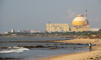 The Kudankulam Nuclear Power Plant in India, built in collaboration with Atomstroyexport, a subsidiary of Rosatom (Flickr/India Water Portal).