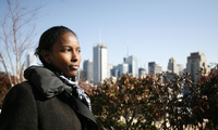 Ayaan Hirsi Ali, a prominent feminist and critic of Islam, takes a stroll in New York.