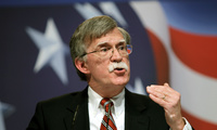 Former U.N. Ambassador John Bolton addresses the Conservative Political Action Conference (CPAC) in Washington. February 20, 2010 (Jose Luis Magana/Associated Press). Keywords: John Bolton, United Nations, CPAC