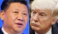 This combination of file photos shows Chinese President Xi Jinping, left, on Jan. 17, 2017, in Davos, Switzerland, and U.S. President Donald Trump on March 28, 2017, in Washington.(AP Photo/Files)