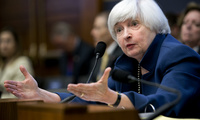 Federal Reserve Chair Janet Yellen testifies before the House Financial Services Committee on Capitol Hill in Washington on Wednesday, July 12, 2017 (AP Photo/Jacquelyn Martin)