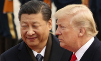 Chinese President Xi Jinping and U.S. President Donald Trump
