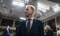 Acting Defense Secretary Patrick Shanahan on Capitol Hill