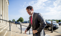 Acting Secretary of Defense Mark Esper arrives in Washington, D.C. to prepare for an upcoming trip to Europe to talk with the United States' NATO allies, June 24, 2019.