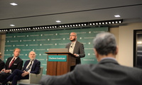 William Tobey, Matthew Bunn, and Nickolas Roth at a Hudson Institute event