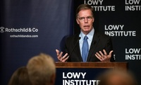 Professor Burns at the Lowy Institute
