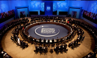 The 2010 Nuclear Security Summit in Washington, D.C.
