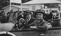 Franklin D. Roosevelt and Henry Morgenthau Jr., February 9, 1934.