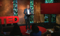 Graham Allison delivers TED Talk.