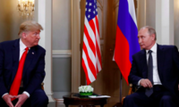 U.S. President Trump meets with Russian President Putin