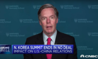 Ambassador Nicholas Burns Speaks to CNBC About U.S.-North Korean Relations