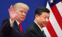 President Trump and China's president, Xi Jinping, in Beijing in November 2017