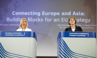 EU High Representative for Foreign Affairs and Security Policy/Vice-President of the European Commission, Federica Mogherini and EU Commissioner for Transport Violeta Bulc today presented the EU's vision for a new and comprehensive strategy to improve connectivity between Europe and Asia.