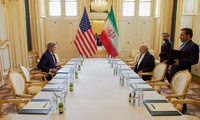 Secretary Kerry and Iranian Foreign Minister Zarif