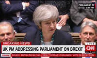 Prime Minister May Addresses British Parliament