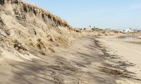 Beach erosion on Cape Cod Bay